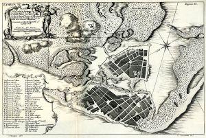 Plano de Cartagena Indias (1735)
